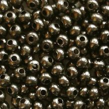 8/0 Metal Seed Beads Gunmetal - 20 grams